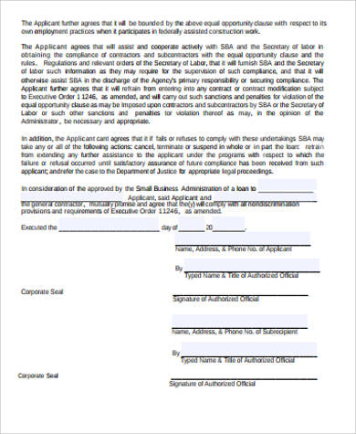 Sample Business Contract Agreement - 5+ Examples In Word, Pdf