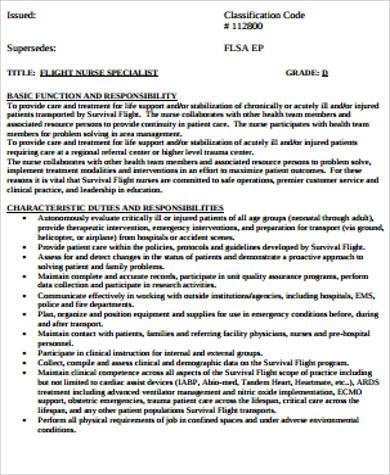 paramedic nurse job description