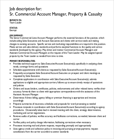 Account Manager Job Description. General-Sales-Account-Manager-Job ...