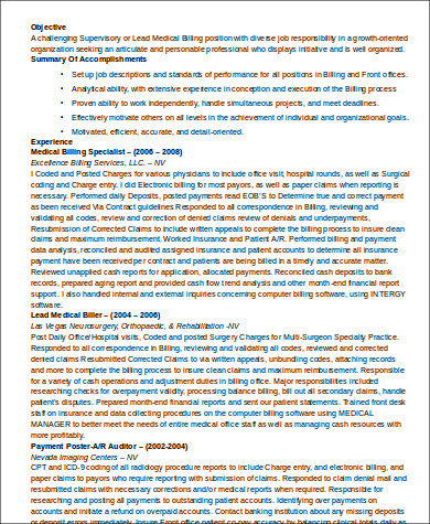 sample medical customer service resume 6 examples in word pdf