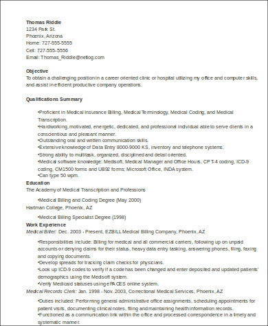 Sample Medical Customer Service Resume 6 Examples In