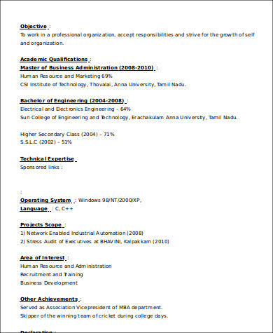 Sample Business Development Executive Resume 8 Examples In Word Pdf