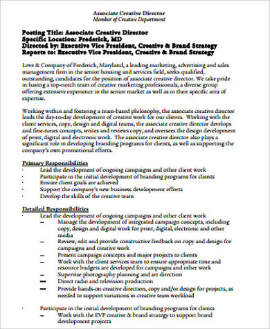 Sample Executive Director Resume 7 Examples In Pdf