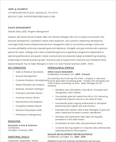 sales manager assistant resume