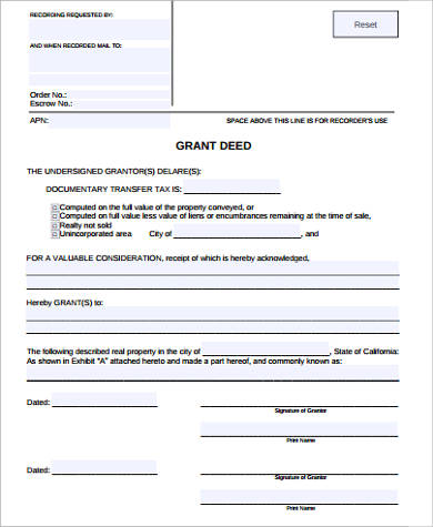 simple grant deed form1