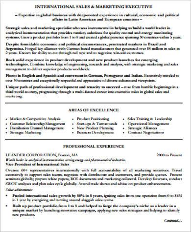 professional sales and marketing resume pdf1