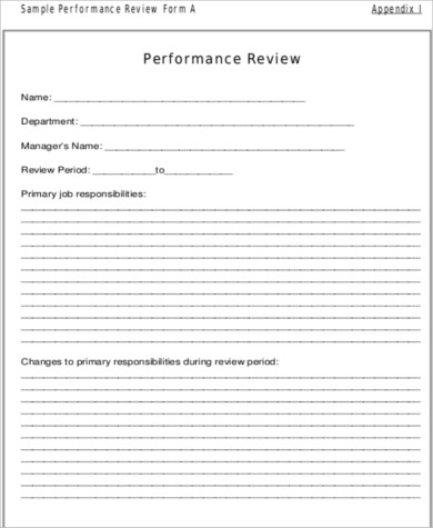 employee performance rating review