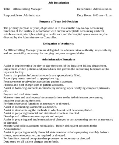 medical administrative assistant job description sample - Medical Administrative Assistant Resume