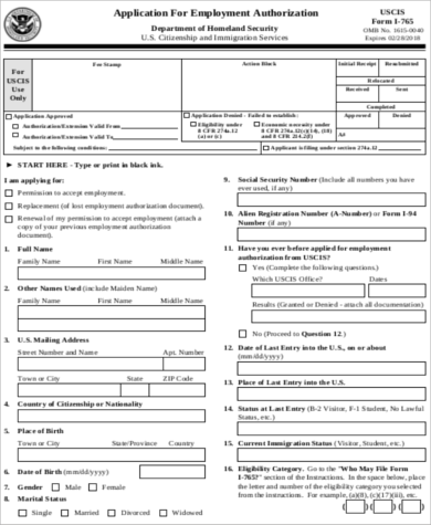 work authorization form - Heart.impulsar.co