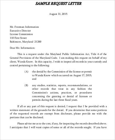 Formal letter format request sample letter format quotation request carisoprodolpharm spiritdancerdesigns Images