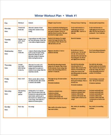 free 7 sample weekly workout plan templates in ms word  pdf