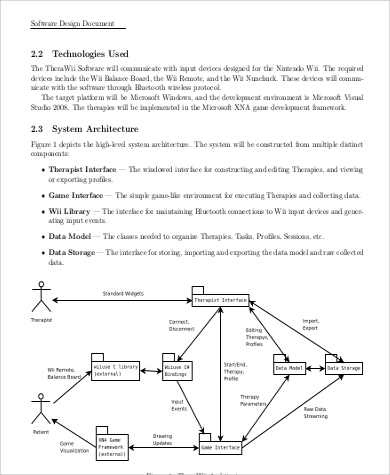 Network design document template advertising proposal example.