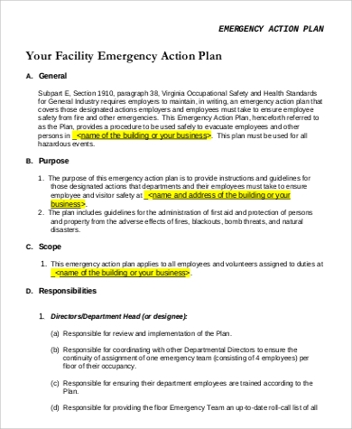top result diving emergency action plan template awesome emergency