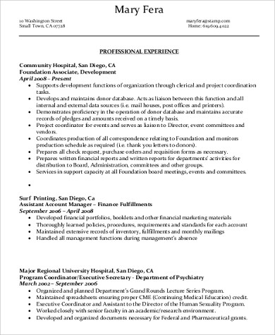 professional administrative assistant resume2