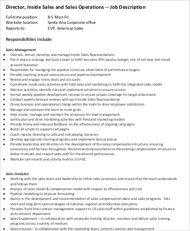 Sales Intern Job Description Retail Supervisor Job Description Also