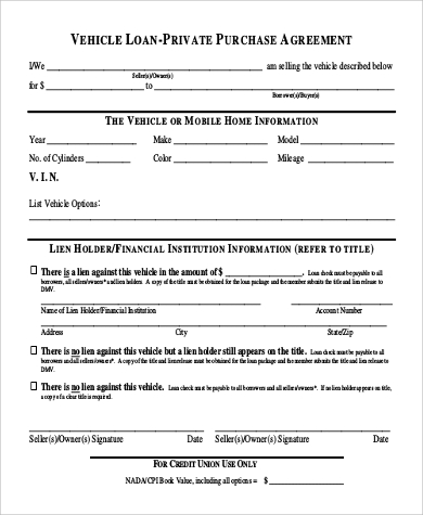 photo regarding Printable Vehicle Purchase Agreement identify Car Buy Settlement Pattern - 12+ Illustrations in just Phrase, PDF