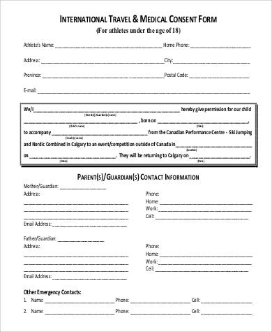 Child travel consent form solarfm best photos of parent consent letter for minor consent altavistaventures Gallery