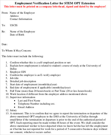 job verification letter 9 sample verification letters sample templates 22654 | Job Verification Letter Format