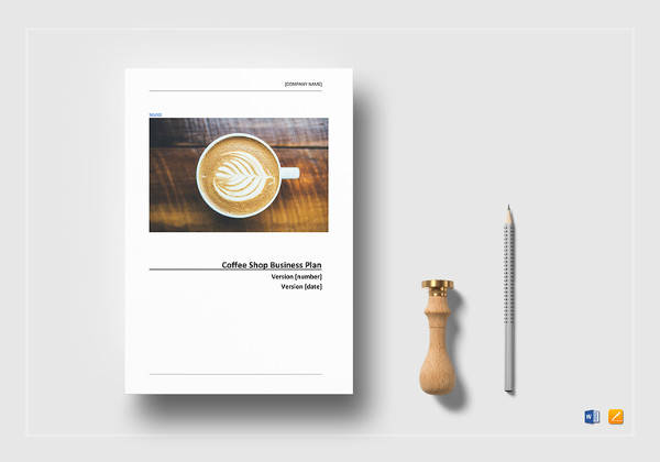 coffee shop business plan word template