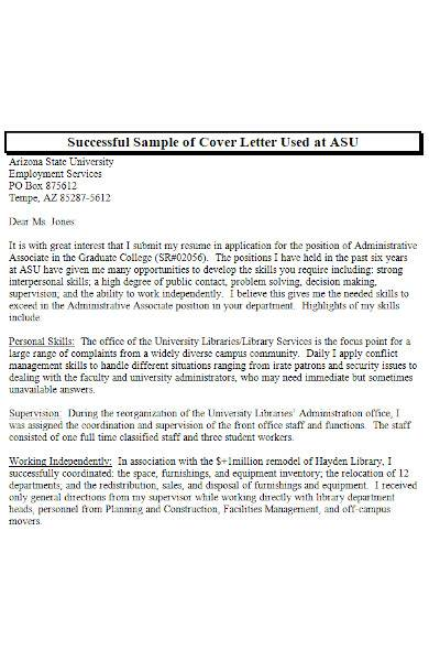cover letter examples for students in ms word