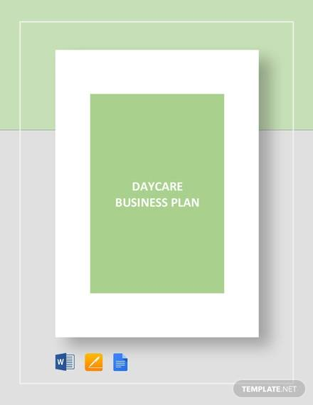 daycare business plan template2