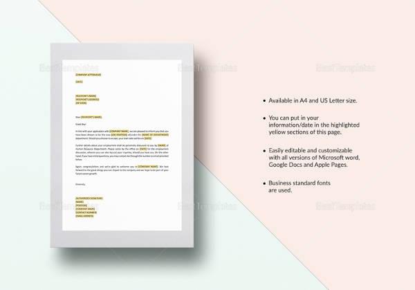 10 sample invitation letters sample templates job invitation letter template spiritdancerdesigns Images