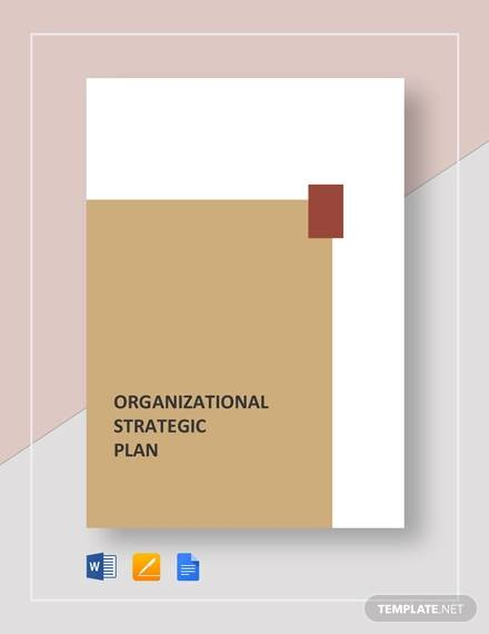 organizational strategic plan template