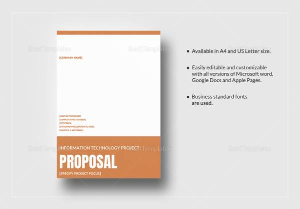 16 project proposal examples sample templates it project proposal template in word accmission Image collections