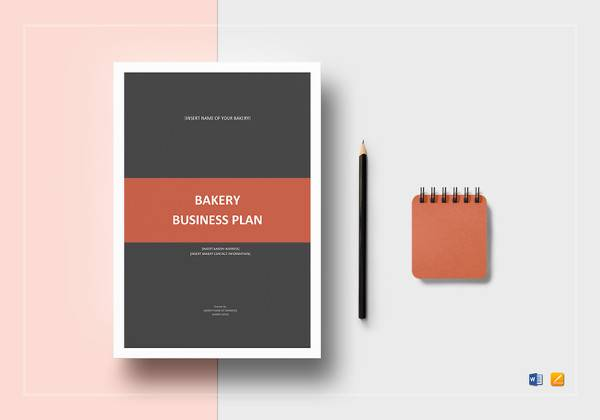 simple bakery business plan template