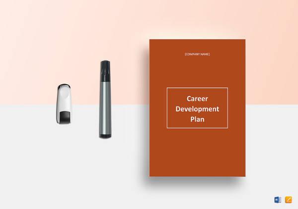 simple career development plan template