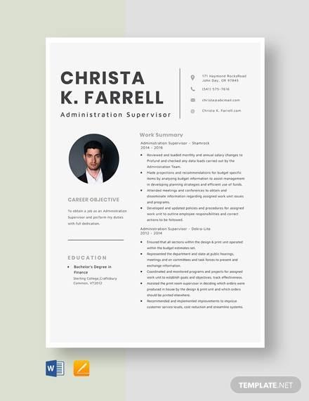 administration supervisor1
