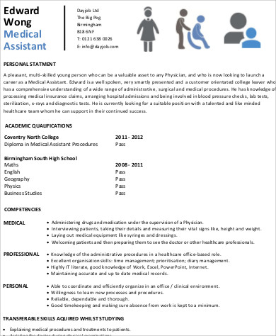 entry level medical assistant resume