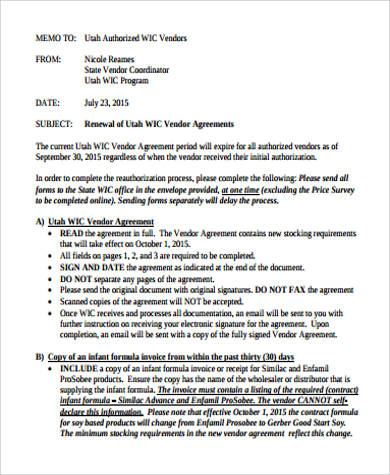 Vendor Contract Agreement W O W Gala Vendor Agreement Final