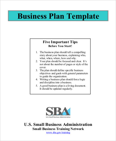 sample business model plan