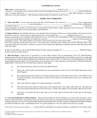 7+ Rental Agreement Format Sample - Free Samples, Examples, Format ...