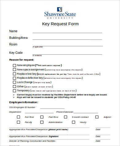 Key Release Form. Key Authentication Features[Edit] Spring