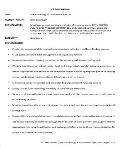 Medical officer job description sample 12 examples in - Compliance officer job description healthcare ...