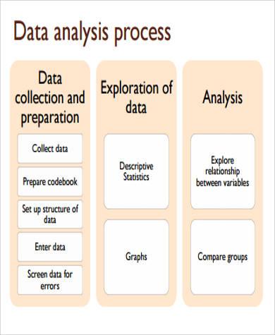 data analysis process sample
