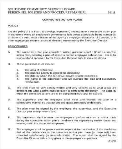 Corrective Action Plan What Are Corrective Action Plans Corrective