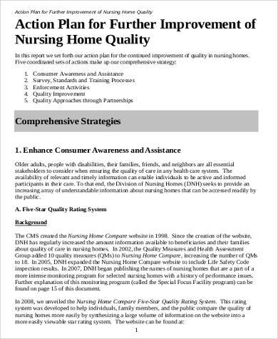 nursing action plan template 38 free action plan samples sample templates
