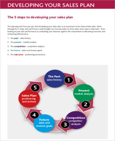 sales developing action plan