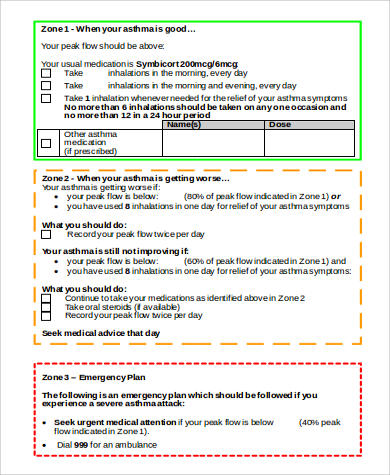 Sample Smart Action Plan  Free Sample Example Format Download