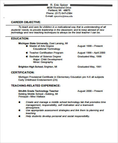 Help Writing Teacher Resume Voluntary Action Orkney  Teacher Resume