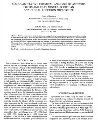 semi quantitative chemical analysis