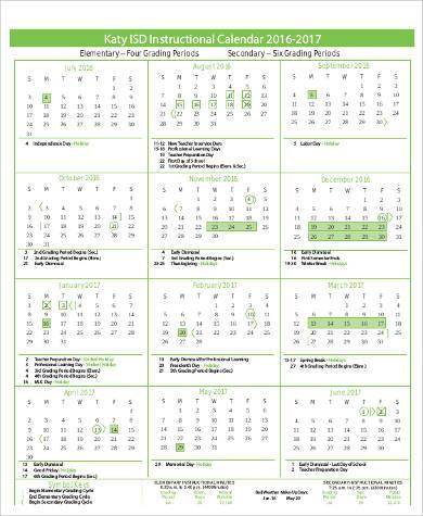 Sample Daily Calendar Printable 5 Examples In Word Pdf