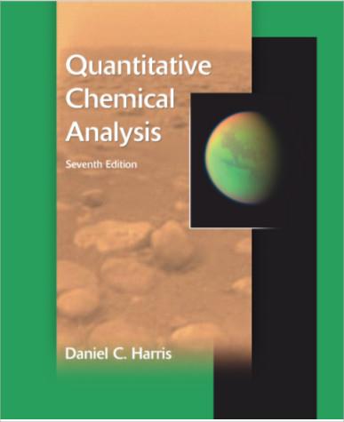 quantitative chemical analysis format