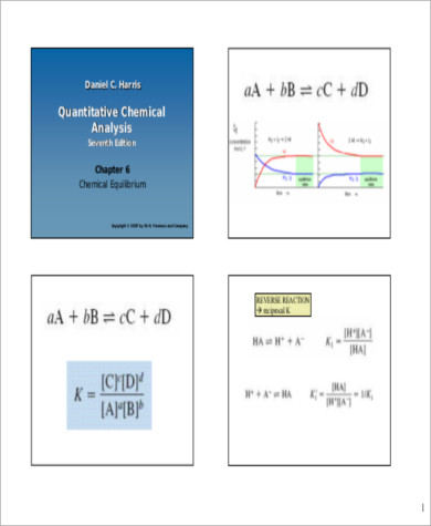 Quantitative Chemical Analysis Sample   Examples In Word Pdf