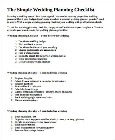 The Best Destination Wedding Checklist Destination - satukis.info