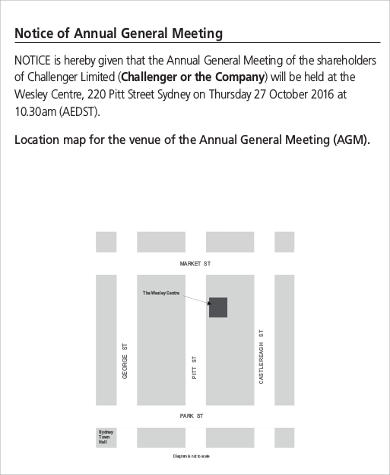 Agenda format sample 30 examples in word pdf annual general meeting agenda notice format altavistaventures Gallery