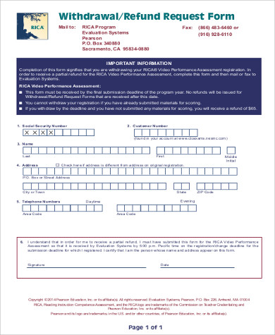 withdrawal refund request form2